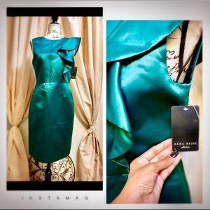 Zara Green dress 👗